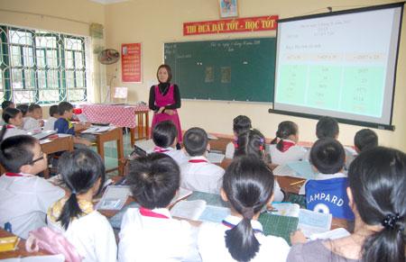 Trường TH Nguyễn Trãi ứng dụng hiệu quả CNTT vào dạy và học