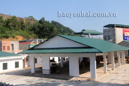 Yên Hưng vừa hoàn thiện tiêu chí chợ nông thôn.
