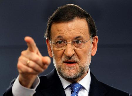 Thủ tướng Tây Ban Nha Mariano Rajoy.