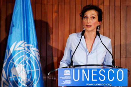 Bà Audrey Azoulay hiện là ứng viên duy nhất cho chức vụ Tổng Giám đốc UNESCO.