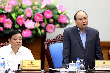 Thủ tướng phát biểu chỉ đạo tại Hội nghị.