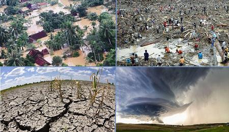 Thiên tai trên thế giới và trong nước diễn biến ngày càng phức tạp, khó lường và cực đoan.
