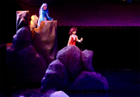 """Vở rối """"Công chúa tóc mây"""" của Nhà hát múa rối Thăng Long sẽ đại diện cho đoàn nghệ thuật Thủ đô tham gia tranh tài vào ngày 9-10."""