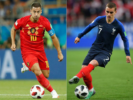 Hazard và Griezmann nằm trong danh sách 30 cầu thủ được đề cử cho danh hiệu Quả bóng Vàng 2018.