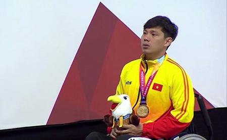 Võ Thanh Tùng mang về tấm HCV thứ 4 cho Đoàn Việt Nam.