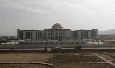 Tòa nhà quốc hội Afghanistan.