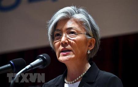 Ngoại trưởng Hàn Quốc Kang Kyung-Wha.