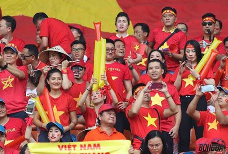 CĐV Việt Nam tại Asiad 2018 (Indonesia).