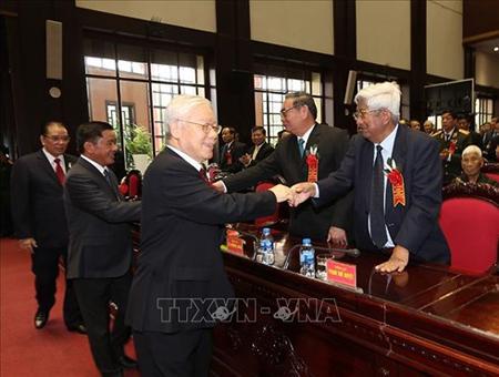 Tổng Bí thư Nguyễn Phú Trọng đến dự Lễ kỷ niệm.