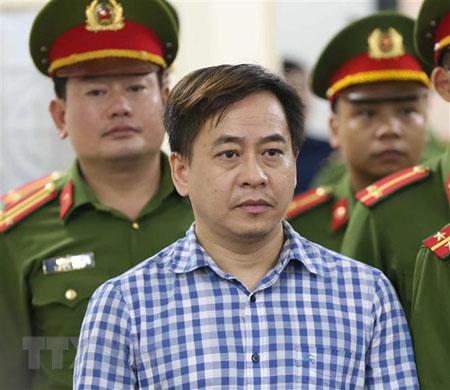 Bị cáo Phan Văn Anh Vũ trong phiên xét xử ngày 30/7.