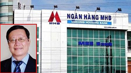 Ông Huỳnh Nam Dũng (ảnh nhỏ), cựu Chủ tịch HĐQT MHB.