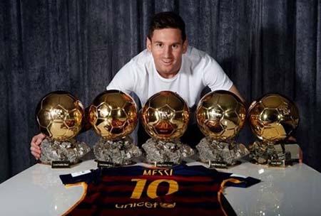 Siêu sao Lionel Messi.