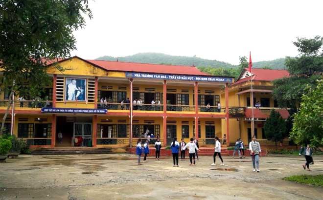 Trường THCS xã Trúc Lâu, huyện Lục Yên.
