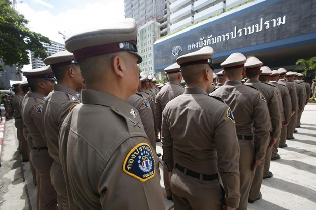 Cảnh sát Thái Lan sẽ triển khai 10.000 nhân viên để đảm bảo an ninh cho Hội nghị Cấp cao ASEAN 35.