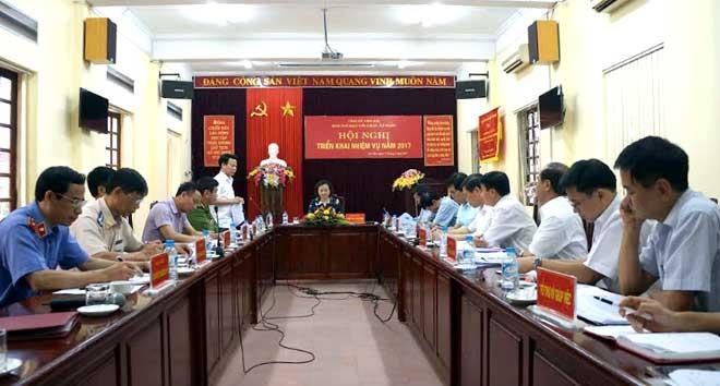Từ năm 2011 đến nay, đồng chí Bí thư Tỉnh ủy trực tiếp làm Trưởng Ban Chỉ đạo cải cách tư pháp tỉnh nên công tác cải cách tư pháp ngày càng có nhiều chuyển biến tích cực.