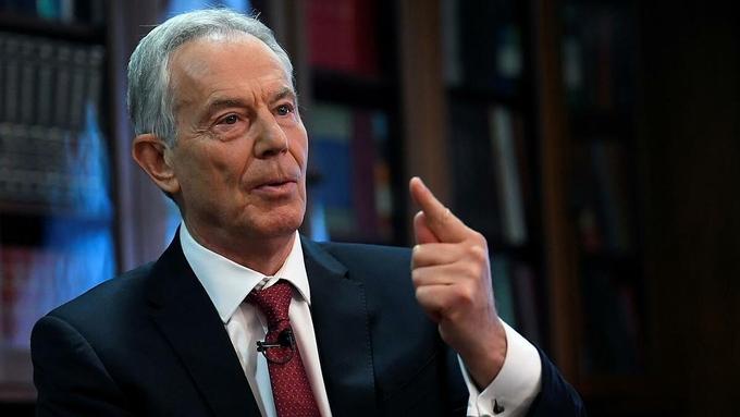 Cựu thủ tướng Anh Tony Blair tại London tháng 12/2019.