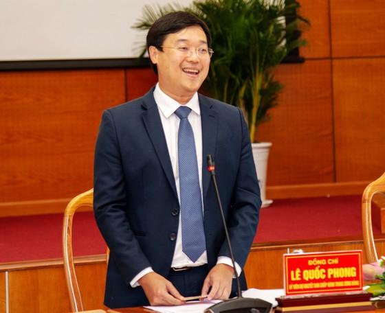 Đồng chí Lê Quốc Phong, Bí thư Tỉnh ủy Đồng Tháp, nhiệm kỳ 2020- 2025