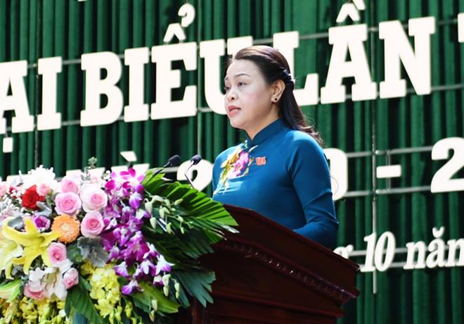 Bà Nguyễn Thị Thu Hà - Bí thư Tỉnh ủy Ninh Bình.