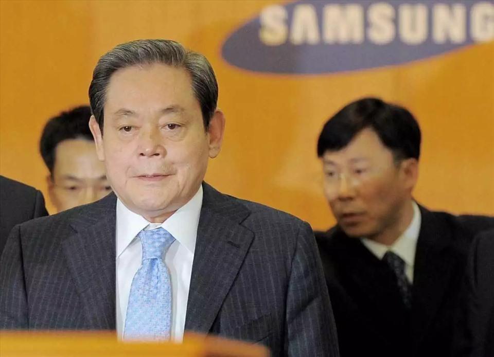 Chủ tịch tập đoàn Samsung Lee Kun-hee