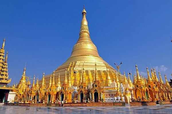 Kết quả hình ảnh cho Chùa Shwedagon tại Yangon