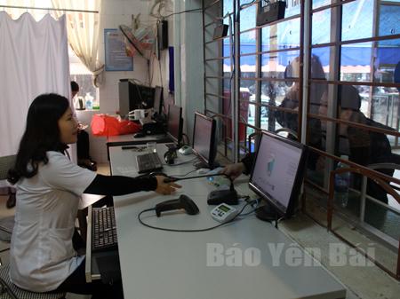 Bệnh viện Đa khoa khu vực Nghĩa Lộ đẩy mạnh cải cách hành chính, phục vụ người dân.