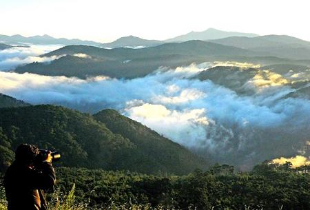 Khu dự trữ sinh quyển Lang Biang được UNESCO công nhận tại Việt Nam.