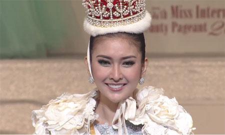 Nhan sắc Hoa hậu Quốc tế 2017 - Kevin Lilliana.