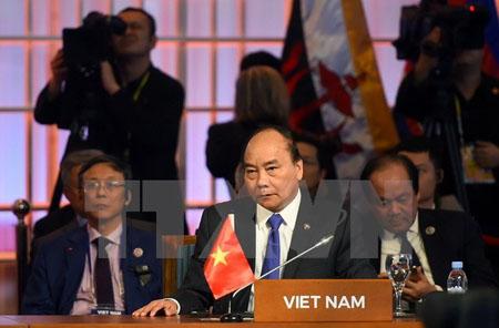 Thủ tướng Chính phủ Nguyễn Xuân Phúc dự Phiên họp Đối tác kinh tế khu vực toàn diện (RCEP).