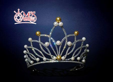 Chiếc vương miện dành cho Miss Photo 2017.