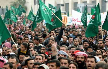 Những người ủng hộ phong trào Muslim Brotherhood tại Ai Cập.