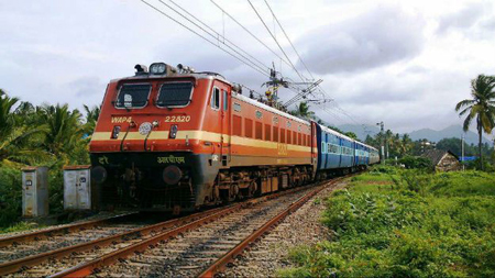 Đường sắt Ấn Độ.