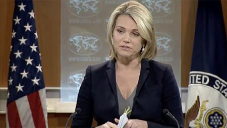 Người phát ngôn Bộ Ngoại giao Mỹ Heather Nauert