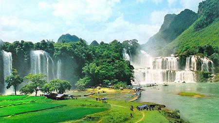 Thác Bản Giốc nằm trong Công viên địa chất toàn cầu.