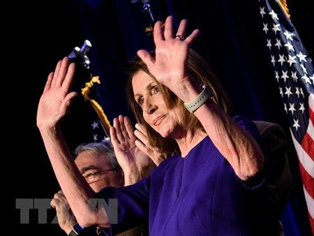 Lãnh đạo thiểu số của đảng Dân chủ tại Hạ viện Mỹ Nancy Pelosi.