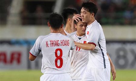 Tuyển Việt Nam đã có trận đấu thảnh thơi trước Lào tại AFF Cup.