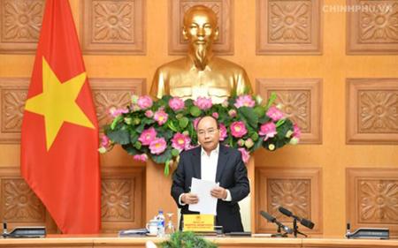Thủ tướng Nguyễn Xuân Phúc chủ trì phiên họp.