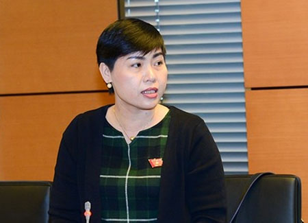 ĐBQH tỉnh Đồng Nai Đỗ Thị Thu Hằng.