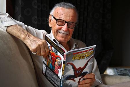 Nhà văn, họa sỹ truyện tranh nổi tiếng Stan Lee.