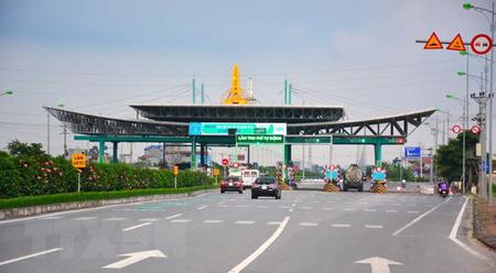 Trạm BOT Mỹ Lộc, tỉnh Nam Định trong cảnh