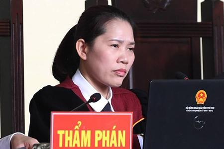 Thẩm phán Nguyễn Thị Thùy Hương