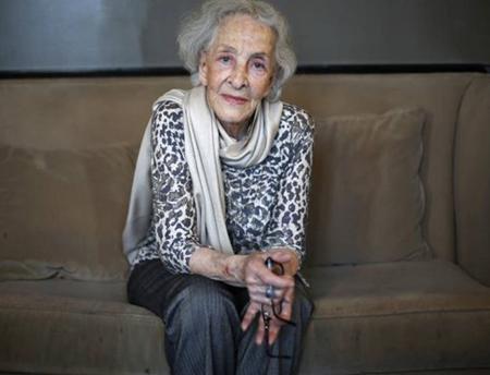 Nữ nhà thơ Uruguay Ida Vitale.
