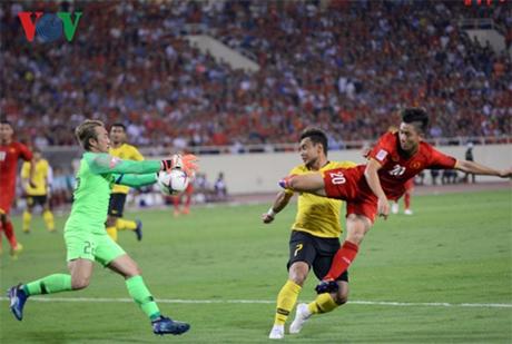 Người Mã ngỡ ngàng sau thất bại 0 - 2 trước ĐT Việt Nam trên sân vận động Quốc gia Mỹ Đình tối 16/11.