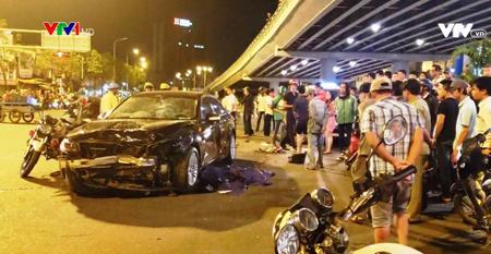 Nhiều vụ tai nạn giao thông xảy ra có nguyên nhân liên quan đến rượu bia. (Ảnh minh họa)