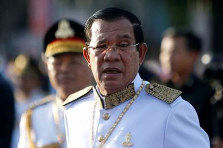 Thủ tướng Campuchia Hun Sen.