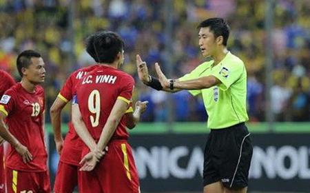 Trọng tài Ma Ning từng đưa ra quyết định tranh cãi trong trận đấu giữa Malaysia và Việt Nam.