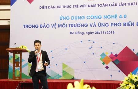Tiến sĩ 9x Nguyễn Duy Tâm tâm huyết với vấn đề Quản lý và sử dụng hiệu quả nguồn bức xạ Mặt trời vốn phong phú ở Việt Nam.