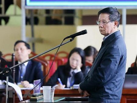 Bị cáo Phan Văn Vĩnh.