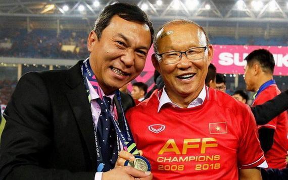HLV Park Hang Seo đoạt nhiều thành tích lớn cùng bóng đá Việt Nam trong hơn 2 năm qua