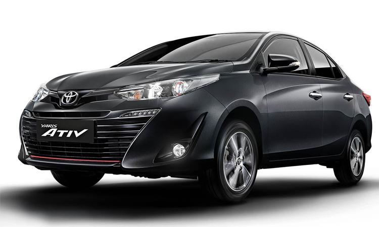 Toyota Vios nâng cấp động cơ, ăn 4,3 lít/100 km Vios mới, hay Yaris Ativ, giữ nguyên thiết kế.