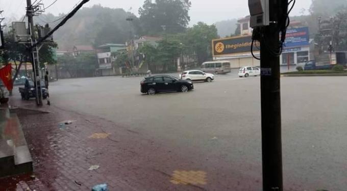Từ gần sáng ngày mai đến sáng ngày 14/11, các khu vực trong tỉnh Yên Bái có mưa, mưa rào rải rác và có nơi có dông.
